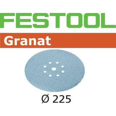 Festool STF GR Hiomapaperi 225mm, 8-reikäinen, 25 kpl