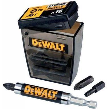Dewalt DT70522T Ruuvikärkisarja 16 osaa