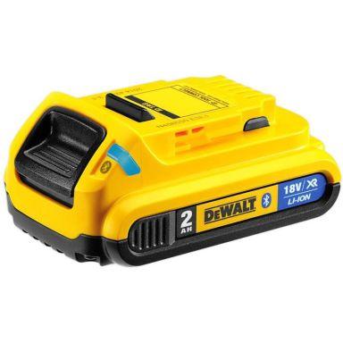 Dewalt DCB183B 18V XR Li-Ion-batteri 2,0Ah med Bluetooth