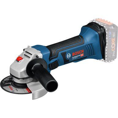 Bosch GWS 18-125 V-LI Vinkelsliper uten batteri og lader