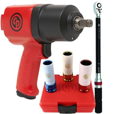 Chicago Pneumatic CP7736 + CP8915 + SS413130WP Däckbytarpaket