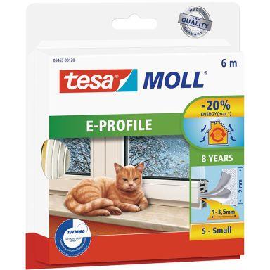 Tesa E-list 05463-00120-00 Tätningslist EPDM, 6 m, 9 mm x 4 mm