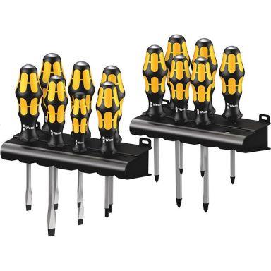 Wera Kraftform Big Pack 900 Skrutrekkersett 13 deler + stativ