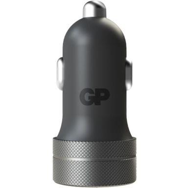GP Batteries CC51 Biladapter 1 x USB A, 1 x USB C