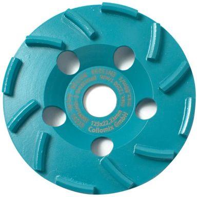 Collomix BST 125 Diamantslipskål till betongslip och vinkelslip