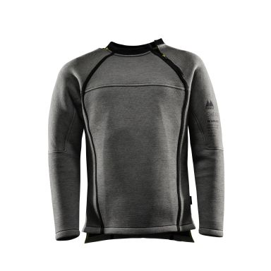 Monitor Sweatshirt Zip Sweatshirt grå