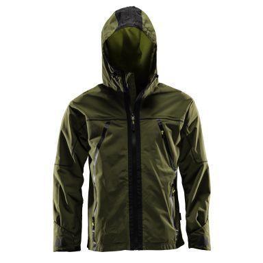 Monitor Shell Jacket Vindjacka olivgrön