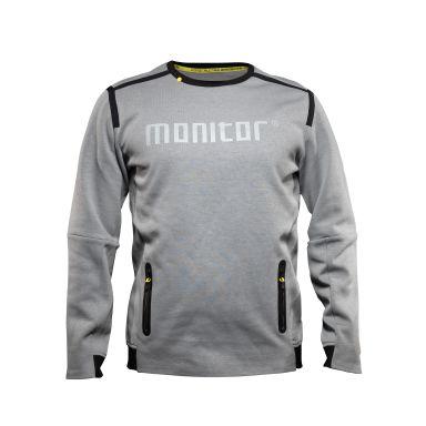 Monitor Sweat Two Sweatshirt grå