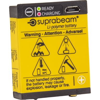 Suprabeam 951.022 Batteri Li-Polymer med USB-laddning