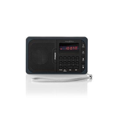 Nedis RDFM2100GY FM-radio bärbar