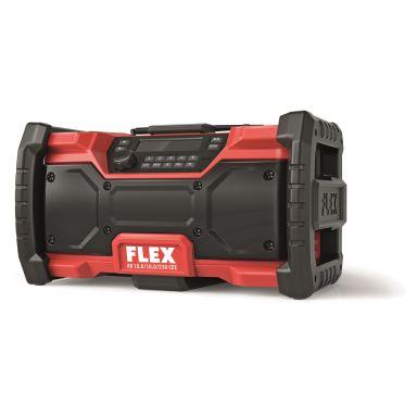 Flex RD10.8/18.0/230 Byggradio utan batteri och laddare