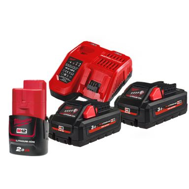 Milwaukee M18 HNRG-302 Laddpaket