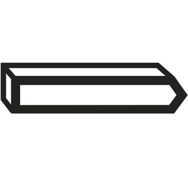 Bosch 1609200390 Stift Typ 40, 23 mm, 1000-pack