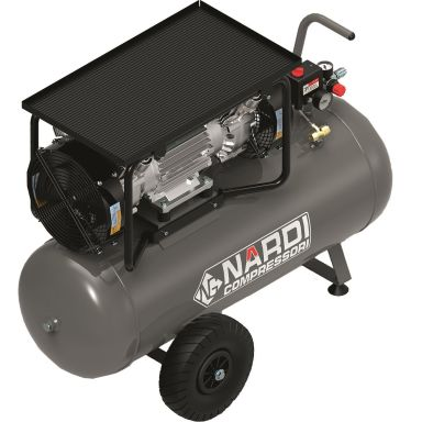 Nardi Extreme 4 90L Kompressor oljefri, 360 l/min