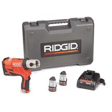 Ridgid RP 240 Pressmaskin med batterier, laddare och väska