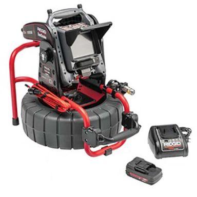 Ridgid Compact M40 Kamerasystem med CS6x VERSA, batteri och laddare