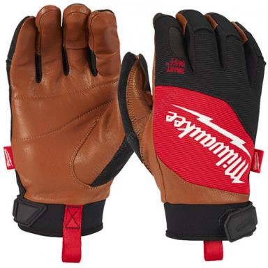 Milwaukee 4932471913 Handske skinn/syntet