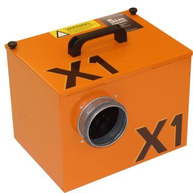 Drybox X1 Undertrycksfläkt kapacitet upp till 275 m3/h