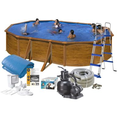 Swim & Fun 2712 Poolpaket 5 x 3 x 1,2 m, 14 550L