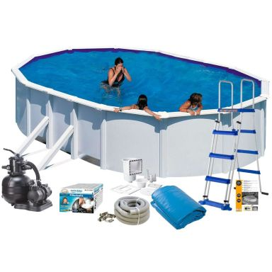 Swim & Fun 2727 Poolpaket 5 x 3 x 1,32 m, 16 210L