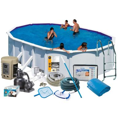 Swim & Fun 2746 Poolpaket 5 x 3 x 1,32 m, 16 210L