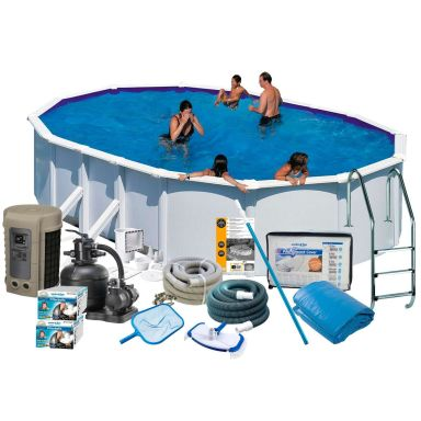 Swim & Fun 2747 Poolpaket 6,1 x 3,75 x 1,32 m, 23 281L