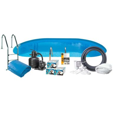 Swim & Fun 2784 Poolpaket 8 x 4 x 1,5 m, 38 840L