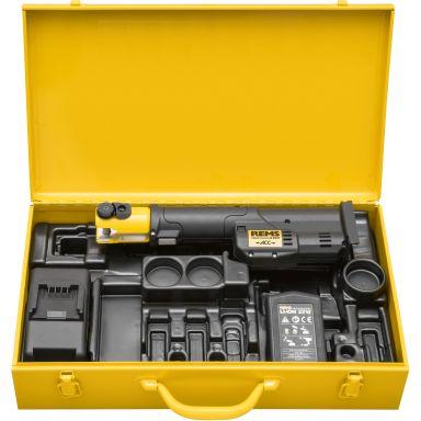 REMS Mini-Press S Pressmaskin med batteri och laddare