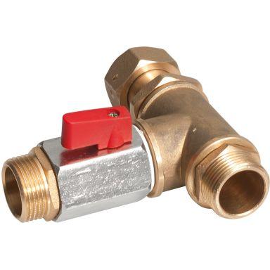 REMS 115325 R Omkopplingsventil f/ Solar-Push K60 & I80