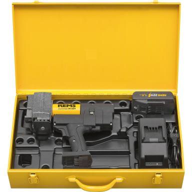 REMS Ax-Press 30 Pressmaskin med 1,5 Ah batteri och laddare