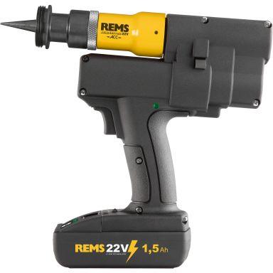 REMS Akku-Ex-Press P 22 V ACC Rörexpander med 1,5 Ah batteri och laddare