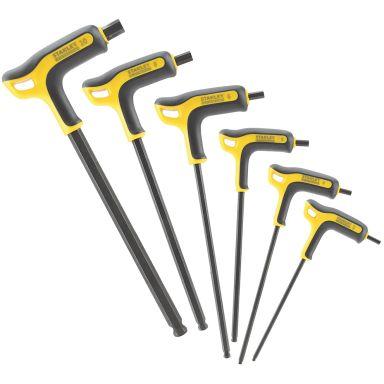 STANLEY FMHT0-69049 Insexnyckelsats med P-handtag, 6 delar