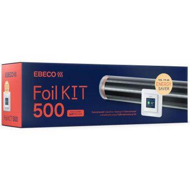 Ebeco Foil Kit 500 Golvvärmeset 8 m², för trä & laminat