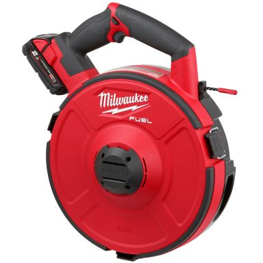 Milwaukee M18 FPFT-202X30M NC SET Dragfjäder med batterier, laddare och trumma