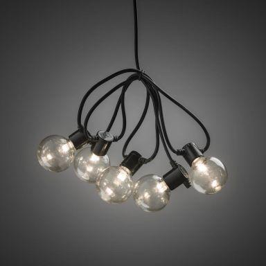 Konstsmide 2374-100 Ljusslinga 20 st. lampor, 4,75 m