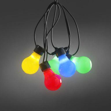 Konstsmide 2388-520 Ljusslinga 10 st. lampor, 4,5 m