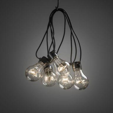 Konstsmide 2397-100 Tilläggsslinga 10 st. lampor, E27-sockel