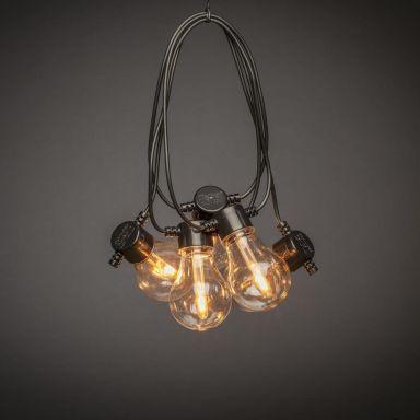 Konstsmide 2391-800 Ljusslinga V-form, E27-sockel