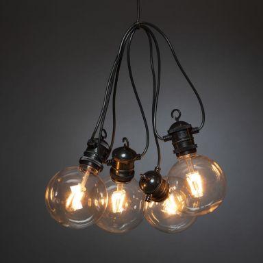Konstsmide 2393-800 Ljusslinga utbytbar, E27-sockel