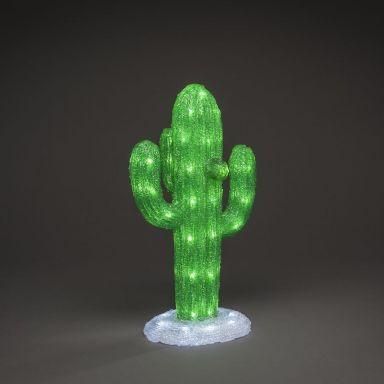 Konstsmide Kaktus Dekorationsbelysning 64 st. ljuskällor, 45 cm