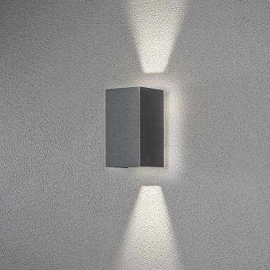 Konstsmide Cremona Väggarmatur LED, mörkgrå