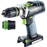 Festool DRC 18/4 Li-Basic QUADRIVE