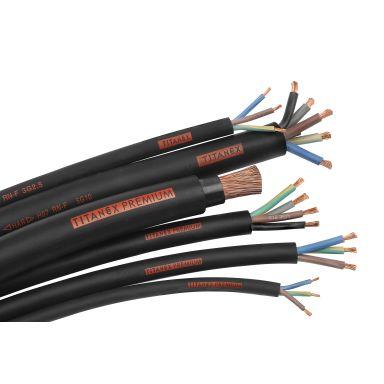 Nexans TITANEX Gummikabel 3G 2,5 mm² lederområde