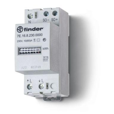 Finder F7E1682300000 Energimåler 1-fase, 65A