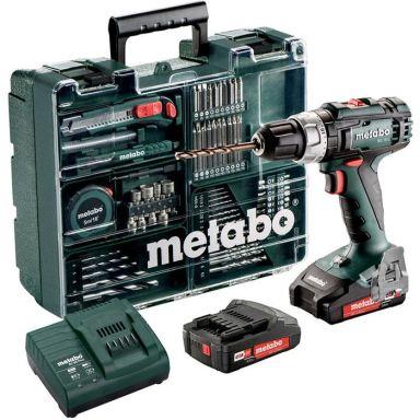 Metabo BS 18 L SET Porakone-ruuvinväännin sis. 2,0 Ah:n akut, laturi & tarvikkeita