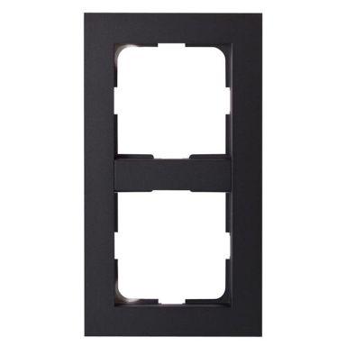 Elko Plus Kombinationsram 2 fack, svart