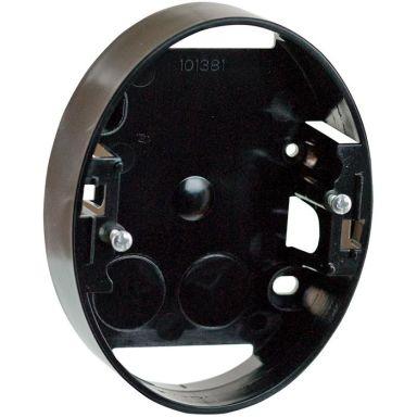 Schneider Electric Renova Rasia 2-pistorasialle, 2 lokero, musta