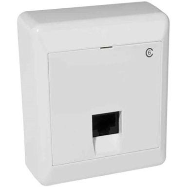 Elko RS Data-/teleuttak utenpåliggende, 1 x 8