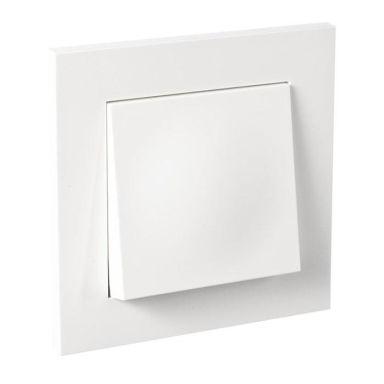 Elko Plus Kytkin upotettu, 1-napainen/portaikko, valkoinen