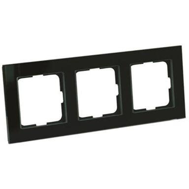 Elko Plus Kombinationsram 3 fack, svart